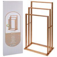 Bathroom Solutions bambusz törölközőtartó 3 rúddal