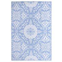 vidaXL babakék PP kültéri szőnyeg 190 x 290 cm