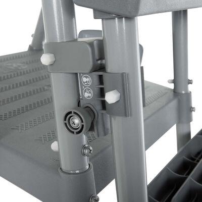 Bestway Flowclear 4 fokos biztonsági létra 122 cm