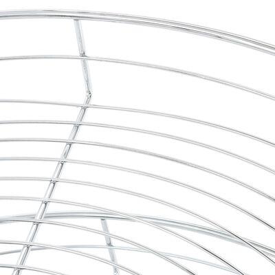 vidaXL ezüstszínű kétszintes elforgatható konyhai drótkosár 71x71x80cm