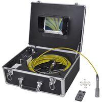 vidaXL csővizsgáló kamera DVR vezérlő dobozzal 30 m