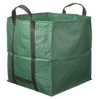 Nature négyzet alakú zöld kerti hulladékzsák 252 L