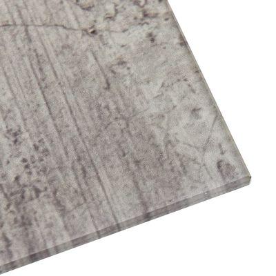 vidaXL falra szerelhető mágneses üvegtábla 80 x 60 cm
