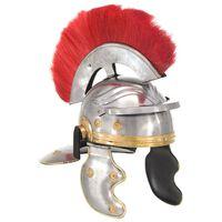 vidaXL ezüstszínű antik római harcos acélsisak LARP másolat