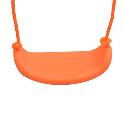 vidaXL egyszemélyes narancssárga hinta