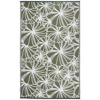 Esschert Design virágmintás kültéri szőnyeg 241 x 152 cm OC21