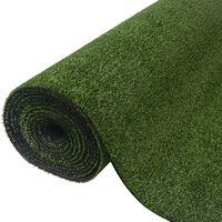 vidaXL zöld műfű 1,5 x 5 m / 7-9 mm