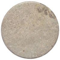 vidaXL szürke márvány asztallap Ø60 x 2,5 cm
