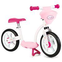 Smoby Corolle rózsaszín egyensúlyozó kerékpár