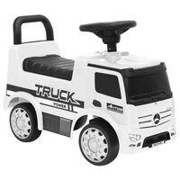 vidaXL fehér Mercedes-Benz kamion pedálos autó