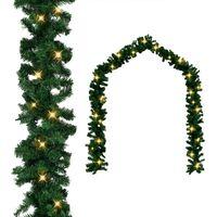Karácsonyi füzér LED-es izzókkal 5 m