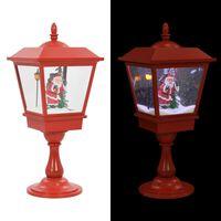 vidaXL karácsonyi talpas lámpa Mikulással 64 cm LED