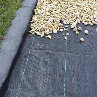 Nature fekete gyomszabályozó talajtakaró 2,1 x 50 m