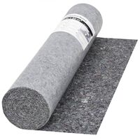 vidaXL szürke, csúszásmentes takarófilc 50 m 280 g/m²