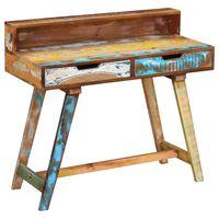 vidaXL tömör újrahasznosított fa íróasztal