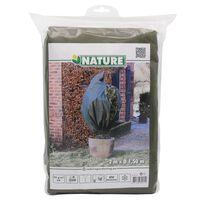 Nature zöld téli gyapjútakaró 70 g/m² 1,5 x 2 m