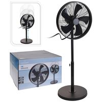 Excellent Electrics fekete álló ventilátor 50 W 40 cm