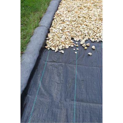 Nature fekete gyomszabályozó talajtakaró 3,3 x 5 m