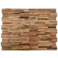 vidaXL 10 db újrahasznosított tíkfa falburkoló panel 1,03 m²