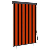 vidaXL narancssárga és barna kültéri roló 120 x 250 cm