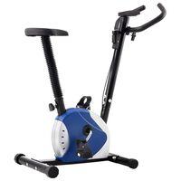 vidaXL kék szíjhajtású szobakerékpár