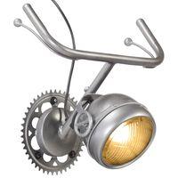 vidaXL kerékpár kialakítású vas fali lámpa