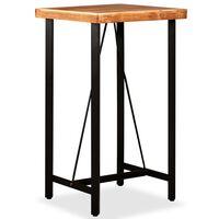 vidaXL tömör akácfa bárasztal 60 x 60 x 107 cm