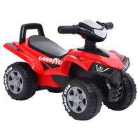 vidaXL Good Year piros gyerek quad