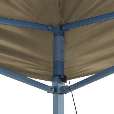 vidaXL összecsukható, felállítható sátor 3 x 4,5 m krémfehér