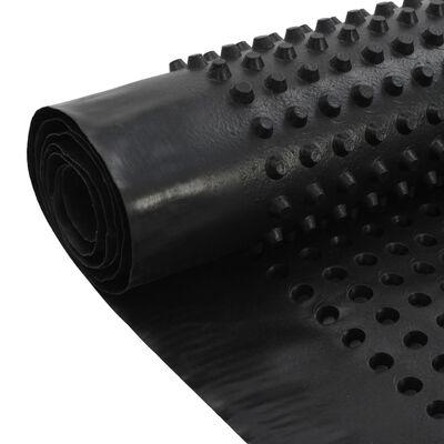 vidaXL 2 db gödrös HDPE vízelvezető lemez 400 g/m² 1 x 20 m