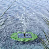 HI lótuszlevél alakú napelemes úszó szökőkútszivattyú