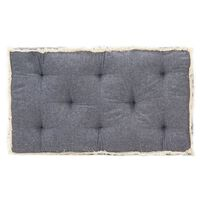 vidaXL kék raklapkanapé-párna 73 x 40 x 7 cm