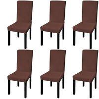 vidaXL 6 db barna szabott nyújtható székszoknya