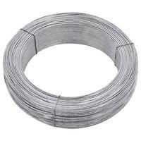 vidaXL acél kerítésösszekötő drót 250 m 2,5 mm