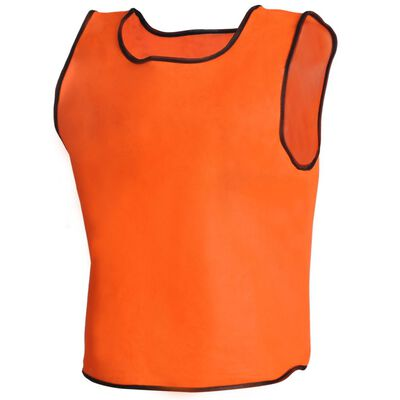 10 db Narancsszínű Sport Vállpántos Felső Gyerekeknek