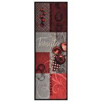 """vidaXL """"Tomato"""" mosható konyhai szőnyeg 60 x 180 cm"""