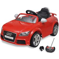 Audi TT RS Elektromos kisautó távirányítóval piros