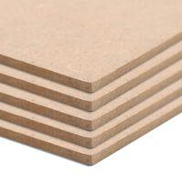 vidaXL 20 db négyzet alakú MDF-lap 60x60 cm 2,5 mm