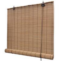 vidaXL barna bambuszroló 150 x 160 cm