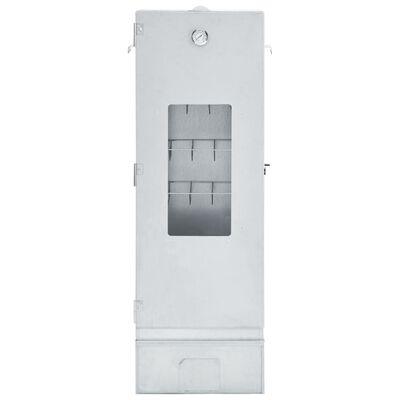 vidaXL BBQ füstölő 1 kg faaprítékkal 44,5 x 29 x 124 cm