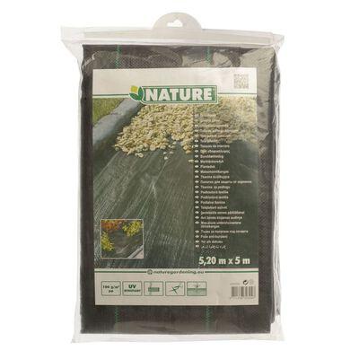 Nature fekete gyomszabályozó talajtakaró 5,2 x 5 m