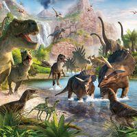 Walltastic Dinosaur Land fotótapéta