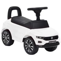 vidaXL fehér Volkswagen T-Roc pedálos autó