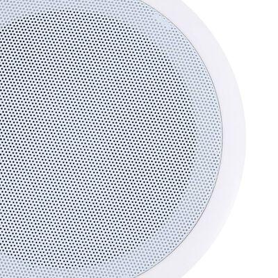 vidaXL 2 db beépített fali és mennyezeti hangszóró 80 W
