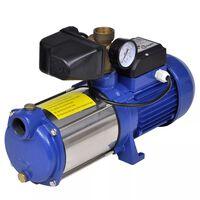 Víz Szivattyú mérővel 1300 W 5100 L / Óra Kék