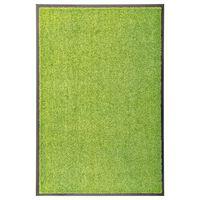 vidaXL zöld kimosható lábtörlő 60 x 90 cm