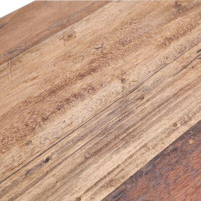 vidaXL tömör újrahasznosított fa étkezőasztal 120 x 60 x 80 cm