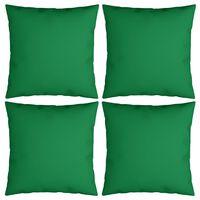 vidaXL 4 db zöld szövet díszpárna 60 x 60 cm