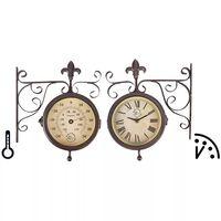 Esschert Design TF005 állomás óra hőmérővel