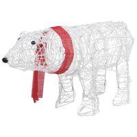 vidaXL akril medve világító karácsonyi dekoráció 45 LED-del 71x20x38cm